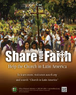 Support the Collection for the Church in Latin America - Print Ad Color