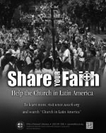 Support the Collection for the Church in Latin America - Print Ad B
