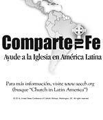 Support the Collection for the Church in Latin America - Clip Art Spanish