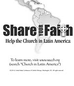 Support the Collection for the Church in Latin America - Clip Art