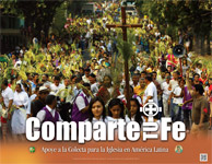 Support the Collection for the Church in Latin America - Poster Spanish