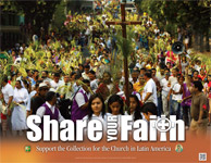 Support the Collection for the Church in Latin America - Poster