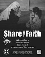 Collection for the Church in Latin America Print Ad Thumbnail Grayscale