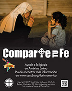 Collection for the Church in Latin America Print Ad Thumbnail en espanol
