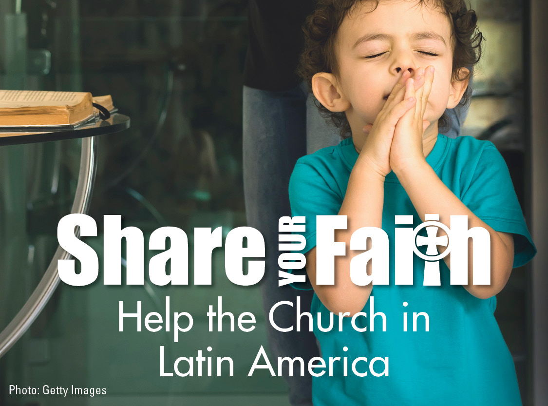 Collection for the Church in Latin America 2019