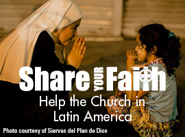Support the Collection for the Church in Latin America!