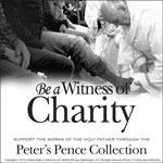 Support the Peter's Pence Collection - Clip Art 1