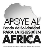 Support the Solidarity Fund for the Church in African - Clip Art 1 Spanish