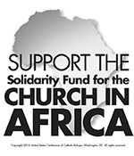 Support the Solidarity Fund for the Church in African - Clip Art 1