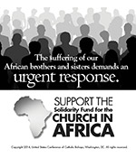 Support the Solidarity Fund for the Church in African - Clip Art 2