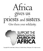 Support the Solidarity Fund for the Church in African - Clip Art 3