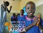 Support the Solidarity Fund for the Church in African - Poster