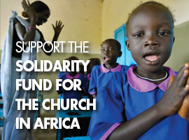 Support the Solidarity Fund for the Church in African - Web Ad Montage