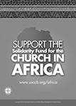 Solidarity Fund for the Church in Africa 2019 - Ad BW