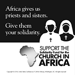 Solidarity Fund for the Church in Africa 2019 - Clip art 1