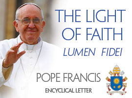 Pope Francis released his first encyclical letter on July 5 2013.