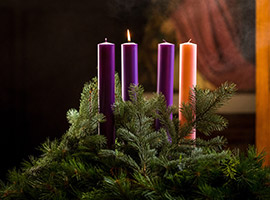 Advent Season Image of candles