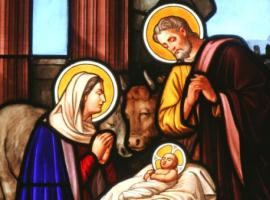 holy family window iStock montage