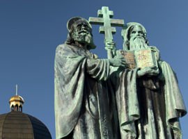 statues-saints-cyril-and-methodius-radhost-czech-republic-iStock-montage