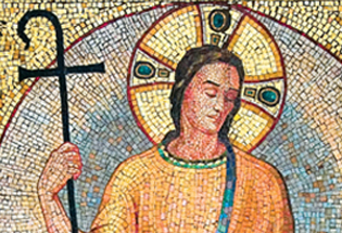 Jesus the Good Shepherd is featured on the World Day of Prayer for Vocations prayer card.