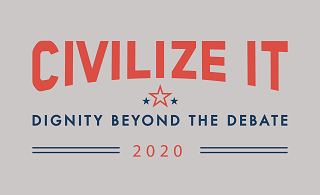 logo for the Civilize It campaign