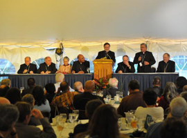 Plenary Session: Bishops of the Committee on Cultural Diversity and Sr. Kateri Mitchell