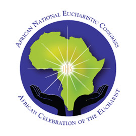 African National Eucharistic Congress logo.
