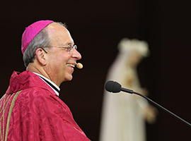 Archbishop William E. Lori delivers the homily during the Fortnight for Freedom Mass.