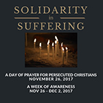 Solidarity in Suffering Ad for Day of Prayer