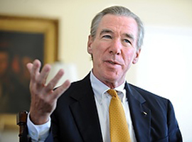 President John Garvey of The Catholic University of America. (Photo by Ed Pfueller courtesy of The Catholic University of America)