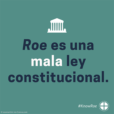 #KnowRoe Image 5 - Spanish - 470