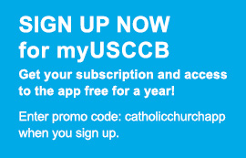 Link to sign up for myUSCCB.