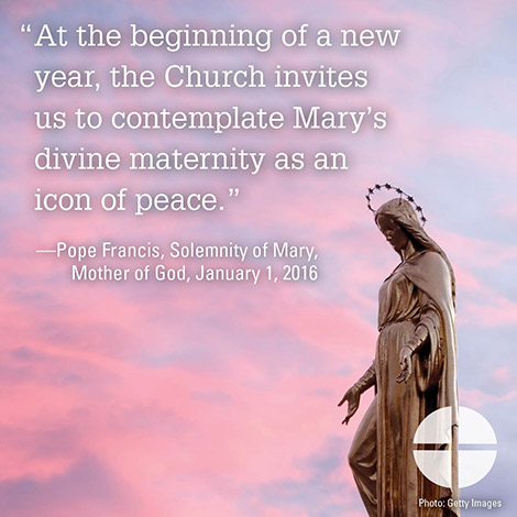Christmas Calendar Solemnity Mary Mother of God