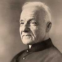 A photo for st. Andre Bessette. CNS image.