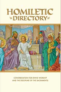 The cover image from the Homiletic Directory from the Vatican's Congregation for Divine Worship and the Discipline of the Sacraments.