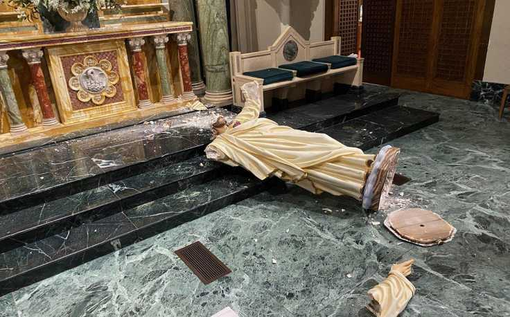June 25 - Church Vandalism