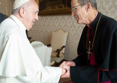 Pope Francis Accepts Resignation of Bishop John LeVoir of New Ulm