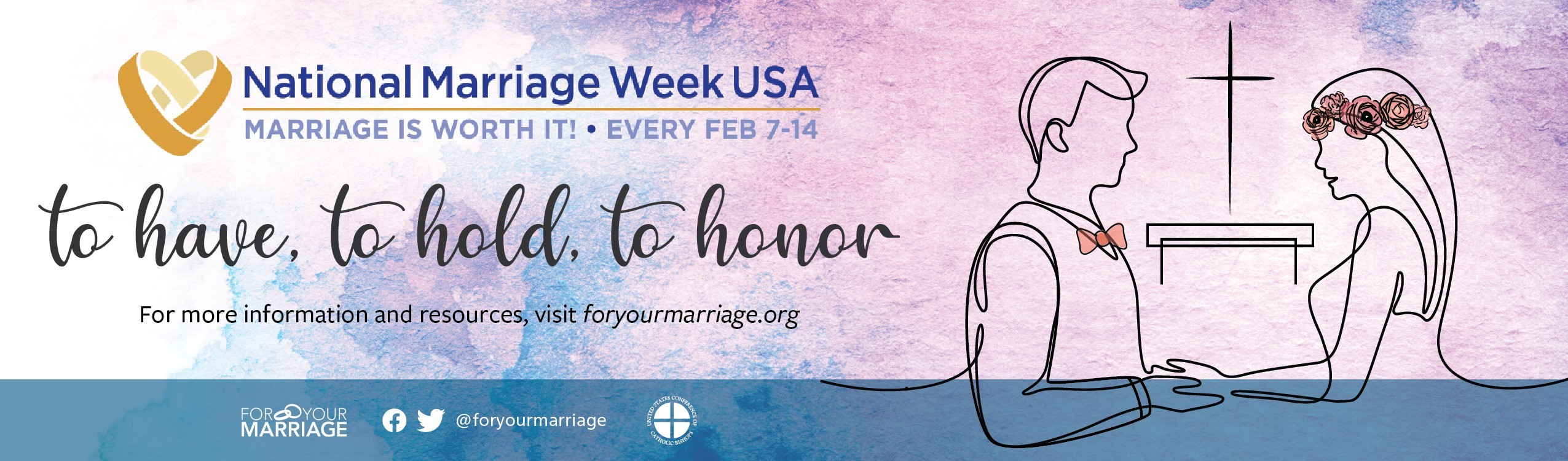 National Marriage Week Header