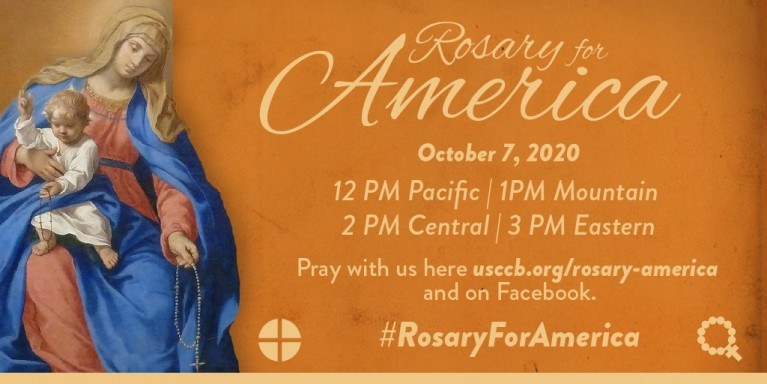 Rosary for America Graphic