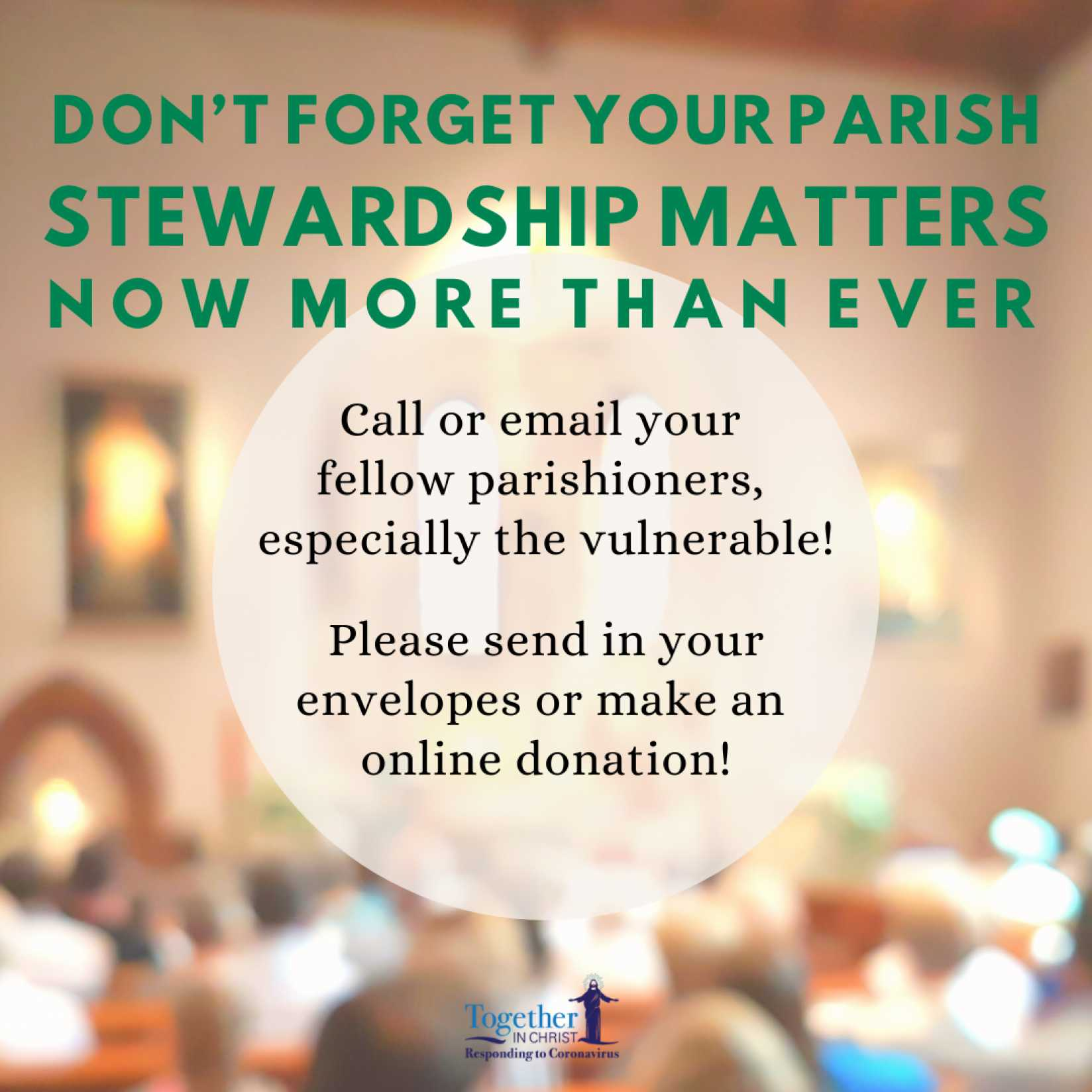 Parish Stewardship