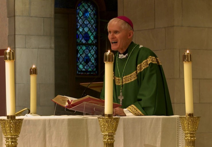 Homily Concerning Domestic Violence by Bishop Mark E. Brennan
