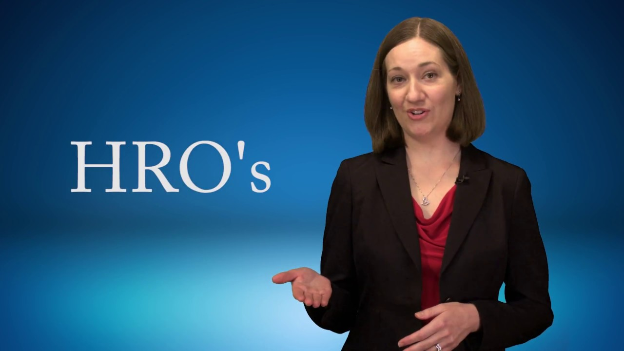 HRO Principles Summary