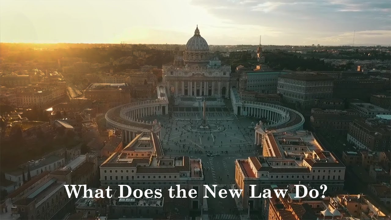 Vos Estis Lux Mundi: What Does the New Law Do?