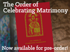 Order The Order of Celebrating Matrimony Book